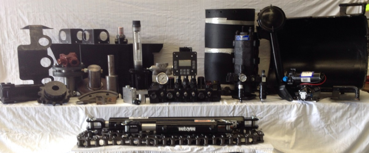 We carry a global parts from Agg bins to Drive shafts.